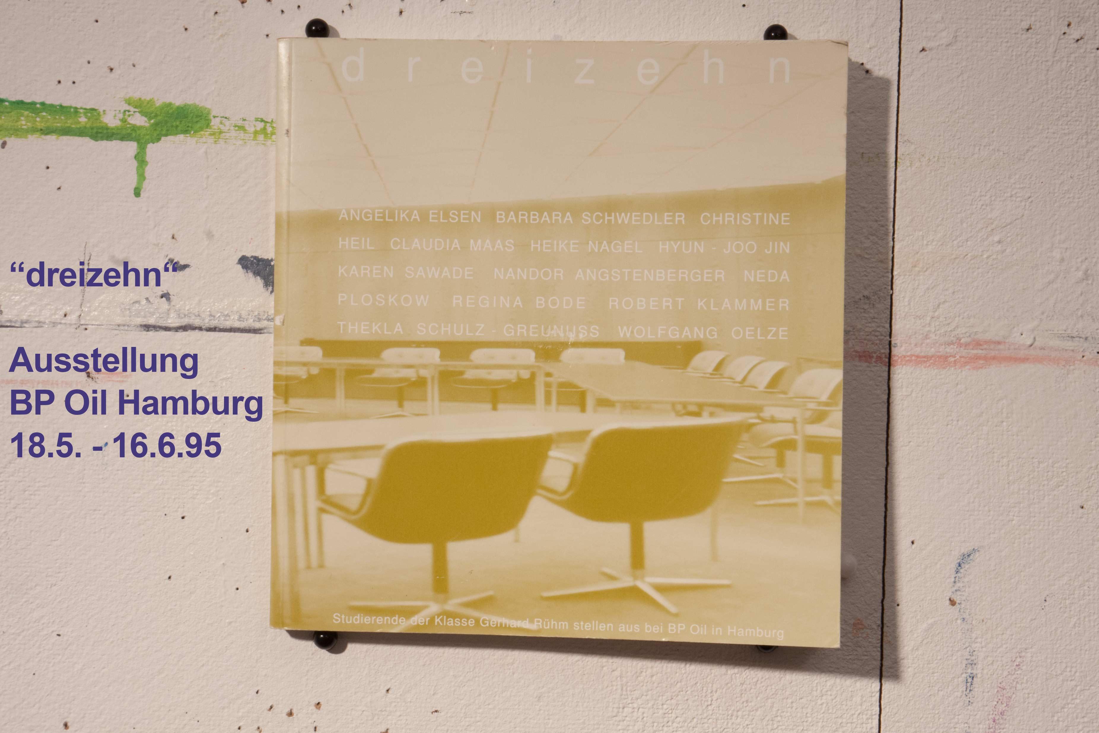 Ausstellung BP-Oil, Gerhard Rühm