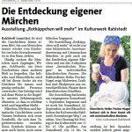 aus: Wochenzeitung für Rahlstedt, ... vom 08.09.2018